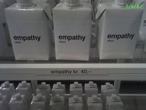 empathy in a carton by geofones