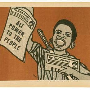 Black Panther Emory Douglas' 'Paperboy'