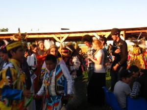 Beaver Lake Cree pow wow 2011. Photo: Pete Speller.
