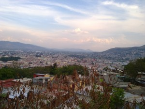 Oaxaca from the hills