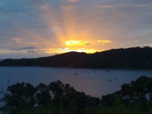 NZ sunset