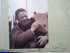 Diego Rivera w/ a monkey: better than payment by results